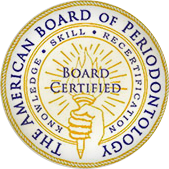 The American Boards of Periodontology