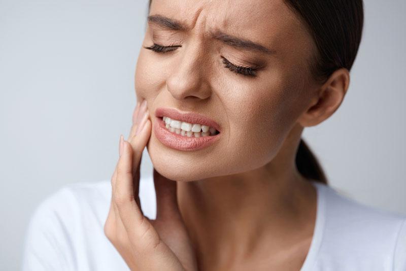 Patient In Dental Pain