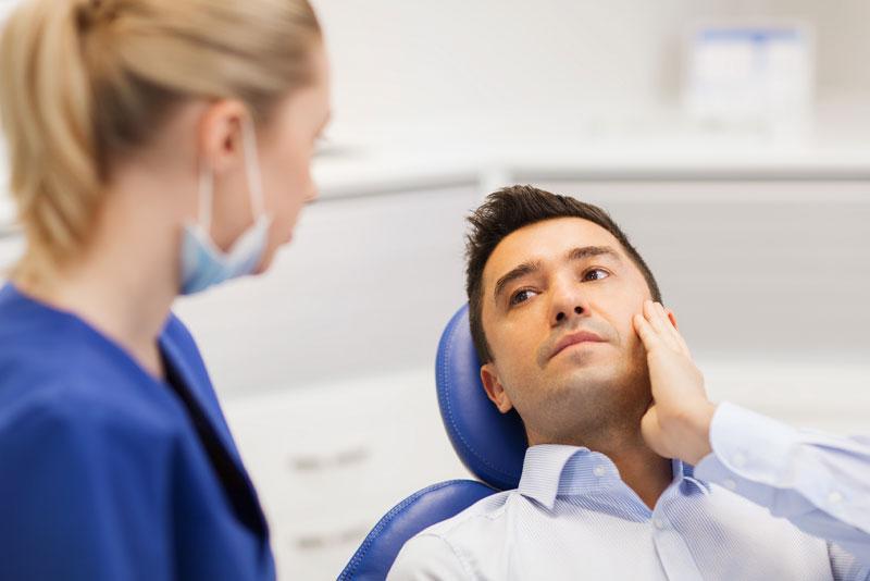 Dental Patient With Gum Disease Pain