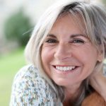 Dental Implant Patient Smiling After Her Dental Implant Procedure