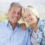 Dental Implant Patients Smiling Together